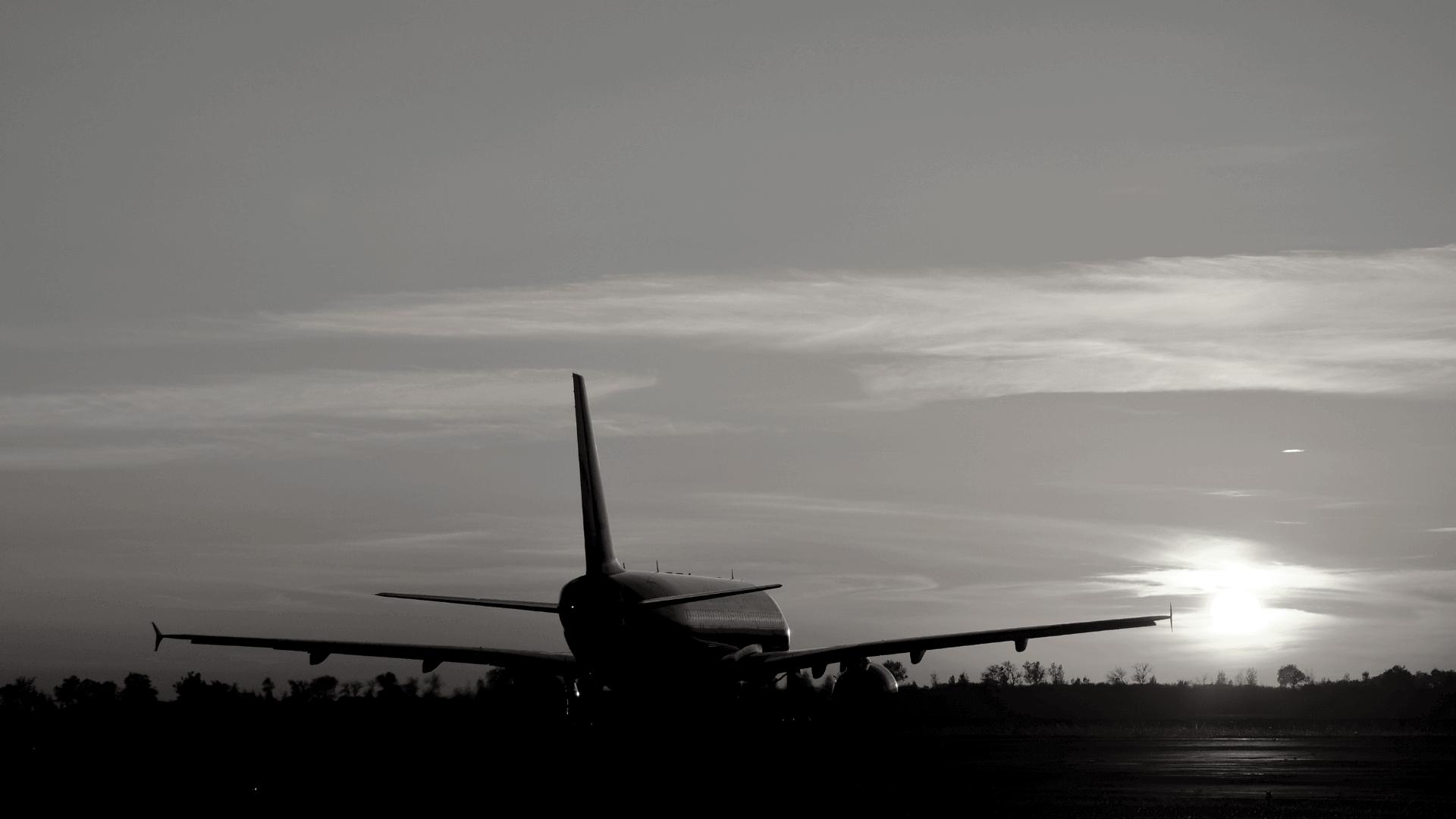 hire-a-car-flugzeug beim Abheben